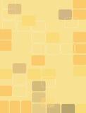 Retro quadrati 3 Immagini Stock Libere da Diritti