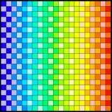 Retro- quadratische Auslegung Stockbild