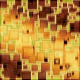 Retro- quadratische Musterauslegung Lizenzfreie Stockfotografie