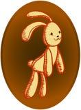 Retro rabbit Stock Photography