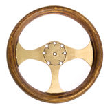 Retro Race Car Steering Wheel Stock Images