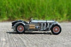 Retro raceauto van Mercedes-Benz SSKL - rechterkantmening Royalty-vrije Stock Afbeeldingen