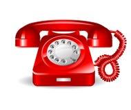 Retro rad telephone Stock Photography