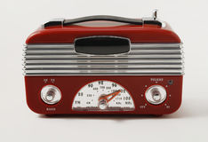 retro radio arkivbild