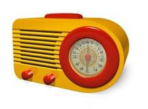 Retro radio Fotografia Stock Libera da Diritti