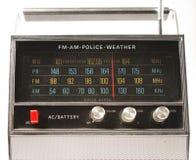 Retro radio. A fantastic looking retro transistor radio Royalty Free Stock Image
