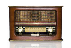 Retro radio Fotografie Stock