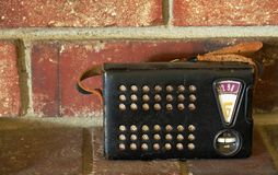 Retro Radio. Image of antique / retro radio Royalty Free Stock Images