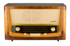 Retro- Radio Stockfotos