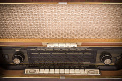 retro radio Royaltyfri Bild