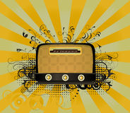 Retro radio Stock Images