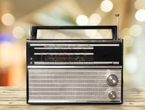 Retro radio Stock Foto's