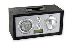 retro radio Arkivbilder