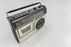 retro radio Fotografering för Bildbyråer