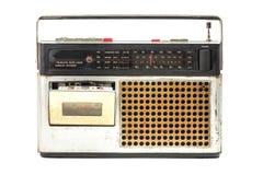 retro radio Royaltyfri Foto