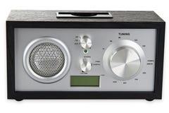 retro radio Arkivfoton