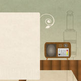 Retro Radio Background Royalty Free Stock Photo