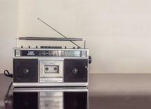 Retro Radio Cassette Royalty Free Stock Images