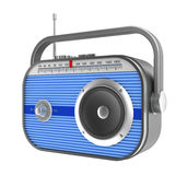 Retro radio concept Royalty Free Stock Photos