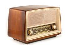 Retro radio del Brown immagine stock libera da diritti
