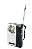 Retro radio della tasca Fotografie Stock