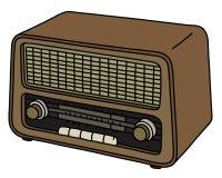 The retro radio Royalty Free Stock Image