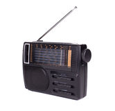 Retro radio. Royalty Free Stock Image