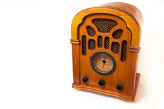 Retro radio. Royalty Free Stock Image