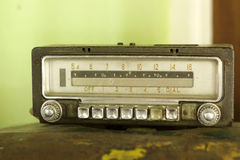 Retro radio old vintage style Royalty Free Stock Photography