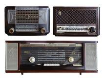 Retro Radio Philips Model stock photo