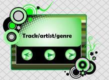 Retro radio player royalty free stock image