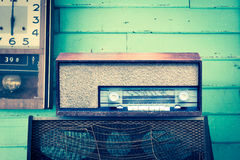 Retro Radio player Royalty Free Stock Photography