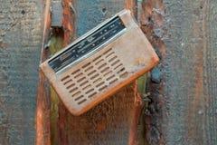 Retro radio receiver Royalty Free Stock Photography