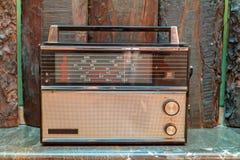 Retro radio receiver Stock Photo