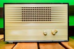 Retro radio receiver Stock Images