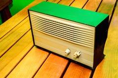 Retro radio receiver. Of the last century Royalty Free Stock Photos