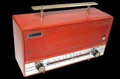 Retro radio receiver of the last century Stock Photo