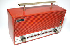 Retro radio receiver of the last century Royalty Free Stock Photo