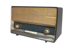 Retro radio receiver of the last century Royalty Free Stock Images