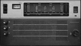 Retro radio receiver on a white background.  Stock Images