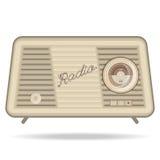Retro radio, retro appliances Stock Image