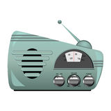 Retro radio set Royalty Free Stock Photography