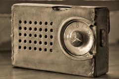 retro radio spica Royalty Free Stock Images