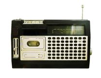 Retro Radio (Tape Recorder) Stock Image