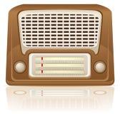 Retro radio vector illustration Stock Photography