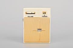 Retro radio. Vintage little  radio transistor box Stock Image