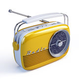 Retro radio stock illustration
