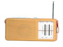 Retro radioachtergrond Stock Foto