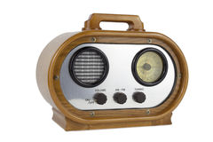 Retro radioontvanger Stock Afbeelding