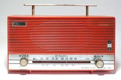 Retro radioontvanger van de laatste eeuw Royalty-vrije Stock Foto's